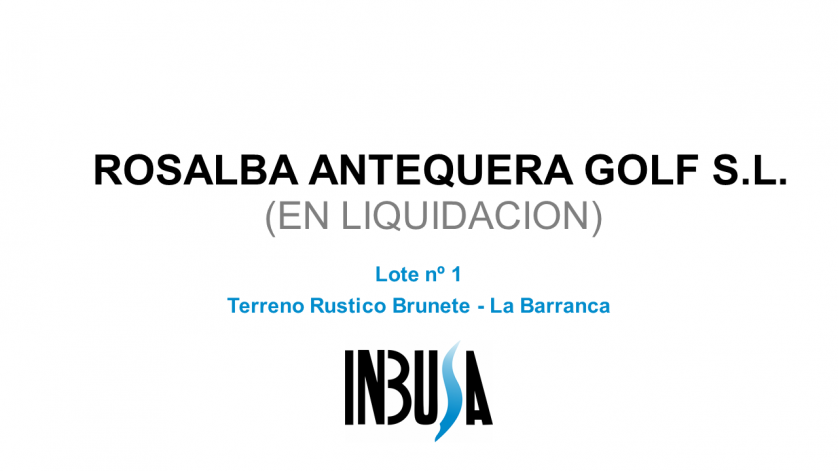 """Tierra al sitio de """"La Barranca"""""""