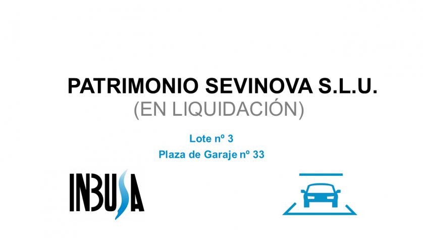 Plaza de Garaje nº33 en Sevilla la Nueva