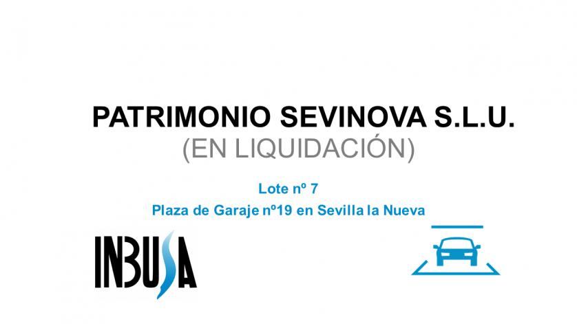 Plaza de Garaje nº19 en Sevilla la Nueva